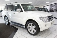 2012 MITSUBISHI SHOGUN 3.2 DI-D SG4 AUTO 197 BHP £18425.00