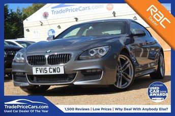 2015 BMW 6 SERIES 3.0 640D M SPORT GRAN COUPE 4d AUTO 309 BHP