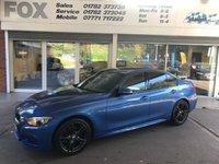 2013 BMW 3 SERIES 2.0 320D M SPORT 4d AUTO 181 BHP £11475.00