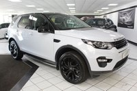 USED 2016 65 LAND ROVER DISCOVERY SPORT 2.0 TD4 HSE BLACK AUTO 180 BHP PAN ROOF 7 SEATS YULONG WHITE!