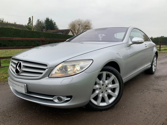 USED 2007 MERCEDES-BENZ CL 5.5 CL 500 2d 383 BHP HEATED ELECTRIC MEMORY LEATHER SEATING - COMMAND SAT NAV - FRONT AND REAR PARKING SENSORS - SUNROOF - POWER TAILGATE & MORE!