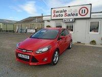 2012 FORD FOCUS 1.0 TITANIUM 124 BHP £7195.00