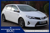2015 TOYOTA AURIS 1.8 VVT-I ICON PLUS 5d AUTO 98 BHP £11995.00