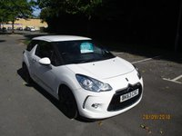 USED 2013 63 CITROEN DS3 1.6 E-HDI DSTYLE 3d 90 BHP GREAT VALUE DS3 DIESEL !!