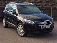 2008 VOLKSWAGEN TIGUAN 2.0 SPORT TDI 5d 138 BHP £6795.00