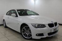 USED 2011 61 BMW 3 SERIES 2.0 320I M SPORT 2DR 168 BHP Full Service History FULL SERVICE HISTORY + HEATED LEATHER SEATS + BLUETOOTH + CRUISE CONTROL + PARKING SENSOR + MULTI FUNCTION WHEEL + CLIMATE CONTROL + 18 INCH ALLOY WHEELS