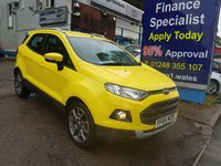 2016 FORD ECOSPORT 1.5 TITANIUM TDCI 5d 94 BHP, only 17000 miles, 1 Owner £10495.00