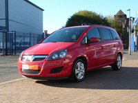 USED 2012 12 VAUXHALL ZAFIRA 1.6 EXCLUSIV 5d  7 SEATS ~ AIRCON ~ PARKING AID ~ FULL VAUXHALL HISTORY
