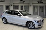 USED 2012 12 BMW 1 SERIES 2.0 118D SE 5d 141 BHP F S H + BLUETOOTH + £30 ROAD TAX + 16 INCH ALLOYS + AIR CONDITIONING + ECO PRO SETTING