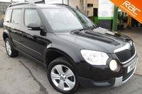 2011 SKODA YETI 1.8 SE TSI 4WD 5d 160 BHP £7750.00