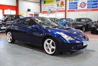 USED 2001 51 TOYOTA CELICA 1.8 T SPORT VVTL-I 3d 189 BHP