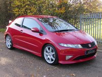 USED 2008 58 HONDA CIVIC 2.0 I-VTEC TYPE-R GT 3d 198 BHP One Former Keeper