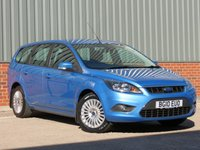 USED 2010 10 FORD FOCUS 1.8 TITANIUM 5d 125 BHP FORD SERVICE HISTORY