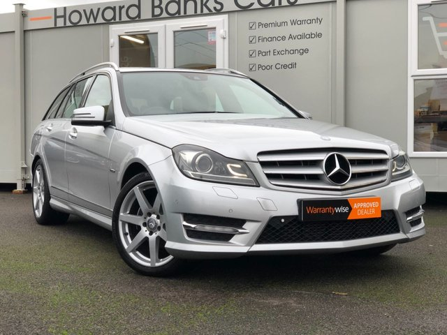 2012 12 MERCEDES-BENZ C CLASS 2.1 C200 CDI BLUEEFFICIENCY SPORT 5d AUTO 135 BHP