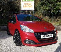 USED 2016 PEUGEOT 208 1.6 THP GTI BY PEUGEOT SPORT 3dr  Bucket Seats, Media, Cruise.