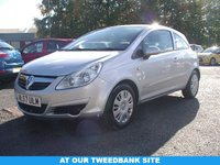 USED 2007 57 VAUXHALL CORSA 1.2 CLUB A/C 16V 3d 80 BHP AT OUR TWEEDBANK SITE