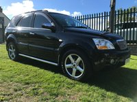 2008 KIA SORENTO 2.5 TITAN 5d 168 BHP previously sold by ourselves black/black heated leather  £5295.00