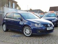 2008 VOLKSWAGEN GOLF 2.0 GT TDI 5d 138 BHP £4795.00