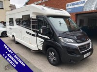 USED 2015 15 FIAT SWIFT BOLERO Ducato 712SB Black Edition 4-Berth : Retractable Awning : Cassette Toilet : Shower : Heated Towel Rail : TV + DVD Player : Reversing Camera : 2 Keys