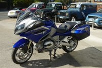 2016 BMW R SERIES 1170cc R 1200 RT  £13750.00