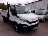 2016 IVECO-FORD DAILY 2.3 35C13 Tipper 126 BHP £12995.00