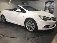 USED 2013 13 VAUXHALL CASCADA 1.4 ELITE S/S 2d 140 BHP DAB Radio   :        Full leather upholstery       :       Heated front seats       :       Heated steering wheel       :       Rear parking sensors    :     Fully stamped service history