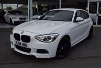 USED 2014 64 BMW 1 SERIES 1.6 116I M SPORT 3d 135 BHP FINANCE TODAY WITH NO DEPOSIT