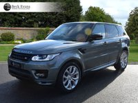 USED 2014 64 LAND ROVER RANGE ROVER SPORT 3.0 AUTOBIOGRAPHY DYNAMIC 5d AUTO 336 BHP LOW MILEAGE