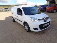 2016 RENAULT KANGOO MAXI 1.5 LL21 BUSINESS PLUS DCI 1d 90 BHP £8400.00