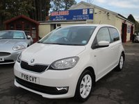 2018 SKODA CITIGO 1.0 COLOUR EDITION MPI 5d 59 BHP £8000.00