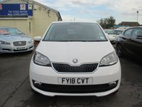 USED 2018 18 SKODA CITIGO 1.0 COLOUR EDITION MPI 5d 59 BHP ONLY GROUP 2 INSURANCE GROUP