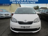 USED 2018 18 SKODA CITIGO 1.0 COLOUR EDITION MPI 5d 59 BHP ONLY 1 OWNER FROM NEW -  GROUP 2 INSURANCE