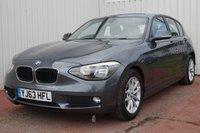 2013 BMW 1 SERIES 1.6 116D EFFICIENTDYNAMICS 5d 114 BHP £8695.00