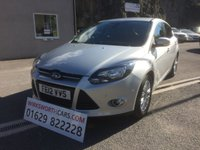 USED 2012 12 FORD FOCUS 1.6 TITANIUM TDCI 115 5d 114 BHP *STUNNING**F.S.H***£20 TAX***PARK ASSIST**DAB RADIO*
