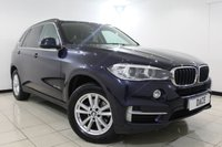 USED 2015 15 BMW X5 2.0 SDRIVE25D SE 5DR AUTOMATIC 215 BHP 1 Owner SERVICE HISTORY + HEATED LEATHER SEATS + SAT NAVIGATION PROFESSIONAL + REVERSE CAMERA + BLUETOOTH + PARKING SENSOR + CRUISE CONTROL + MULTI FUNCTION WHEEL + CLIMATE CONTROL + 18 INCH ALLOY WHEELS