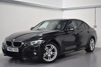 2015 BMW 3 SERIES 2.0 318D M SPORT 4d 141 BHP £14190.00