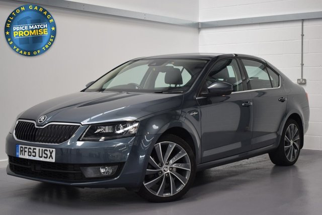 USED 2015 65 SKODA OCTAVIA 2.0 LAURIN AND KLEMENT TDI CR DSG 5d AUTO 148 BHP