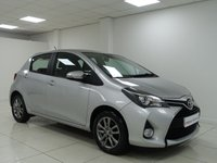 USED 2015 15 TOYOTA YARIS 1.3 VVT-I ICON [ REVERSE CAMERA BLUETOOTH ] 5 dr