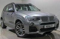 2016 BMW X3 3.0 XDRIVE35D M SPORT 5d AUTO 309 BHP £26990.00