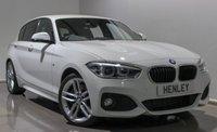 USED 2015 65 BMW 1 SERIES 2.0 125D M SPORT 5d AUTO 221 BHP