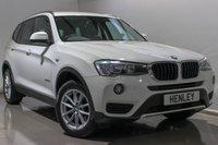 2016 BMW X3 2.0 XDRIVE20D SE 5d AUTO 188 BHP £22990.00