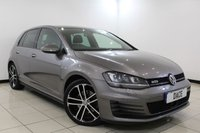USED 2015 15 VOLKSWAGEN GOLF 2.0 GTD 5DR 181 BHP SERVICE HISTORY + HEATED SEATS + BLUETOOTH + PARKING SENSOR + CRUISE CONTROL + MULTI FUNCTION WHEEL + CLIMATE CONTROL + 18 INCH ALLOY WHEELS
