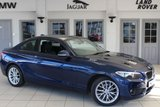 USED 2015 15 BMW 2 SERIES 2.0 218D SE 2d 141 BHP FULL BMW SERVICE HISTORY + REVERSE CAMERA + BLUETOOTH + HEATED FRONT SEATS + £30 ROAD TAX + DAB RADIO + PARKING SENSORS + 16 INCH ALLOYS