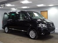 USED 2013 63 VOLKSWAGEN CARAVELLE 2.0 EXECUTIVE TDI 4MOTION BMT 5d 139 BHP
