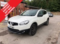 USED 2013 63 NISSAN QASHQAI 1.6 DCI 360 IS 5d 130 BHP Just 1 owner and immaculate, a stunning example of a Nissan Qashqai 360 in stunning White Pearlescent Paint with extensive Service History, SAT NAV, 360 Degree Camera, Glass Panoramic Roof, Electrically Operated Blind, Half Leather, Leather Multi Functional Steering Wheel, Air Conditioning, Cruise Control, Electrically Operated Folding Wing Mirrors,  Alloy Wheels, Privacy Glass and comes with a Free Warranty