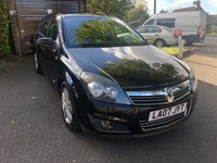 2007 VAUXHALL ASTRA 1.6 SXI 5d 115 BHP £2195.00