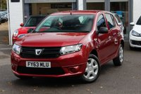 USED 2013 63 DACIA SANDERO 1.2 AMBIANCE 5d 75 BHP PETROL HATCHBACK 1 OWNER FROM NEW ** FINANCE AVAILABLE ** PX WELCOMED **