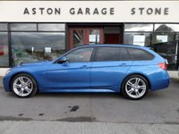 USED 2014 14 BMW 3 SERIES 2.0 320D M SPORT TOURING 5d AUTO 181 BHP **NAV * LEATHER *FSH** ** FULL SERVICE HISTORY * NAV * HEATED LEATHER **