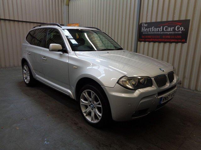 2007 57 BMW X3 3.0 D M SPORT 5d AUTO 218 BHP