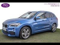 USED 2016 16 BMW X1 2.0 XDRIVE25D M SPORT 5d AUTO 228 BHP